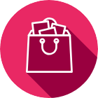 Ikon shoppingpåse
